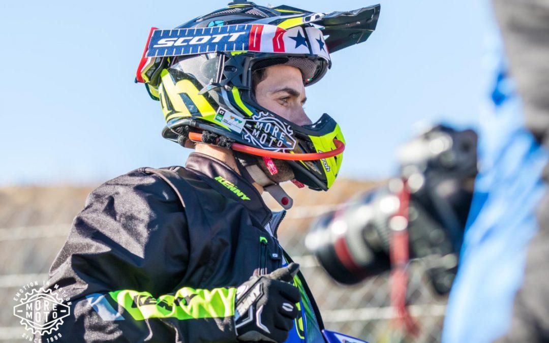 Primer podio del año para Mario Román en Alestrem