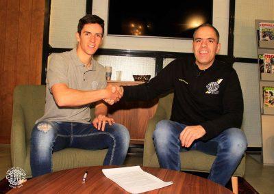Iker Larrañaga y David Esteban cierran su colaboración