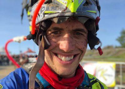 Mario Román feliz tras su victoria en Valongo