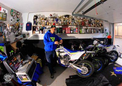 El garaje de Mario Román