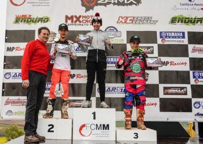 Elías en el segundo puesto, Unai tercero en el podio de Yunquera