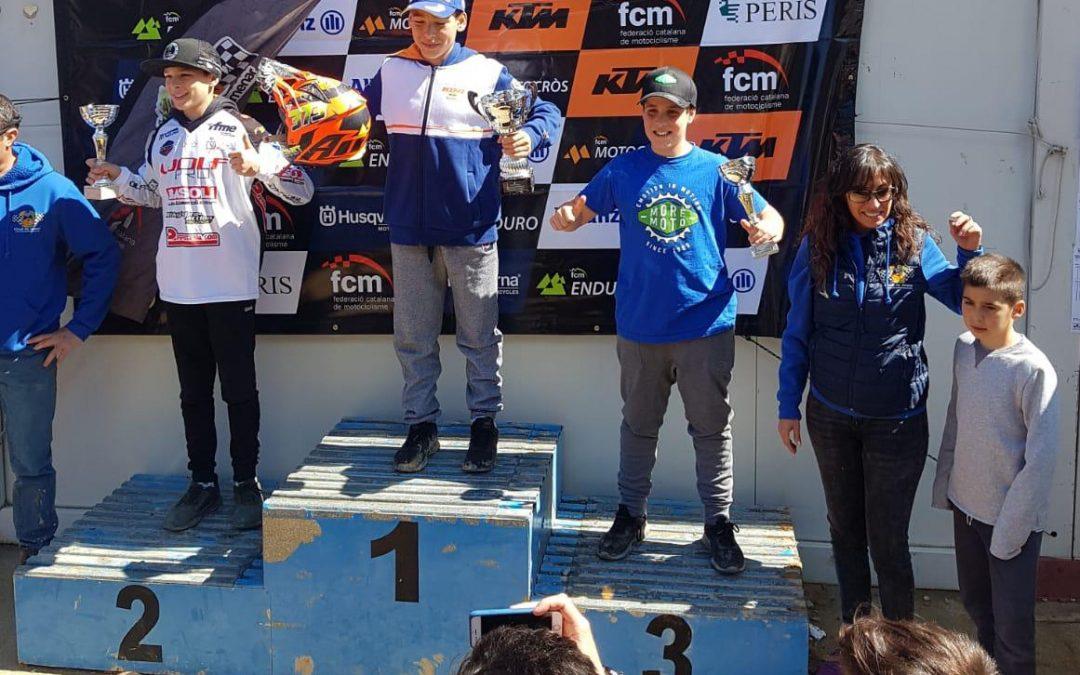 Unai, nuevo podio en el Campeonato de Cataluña