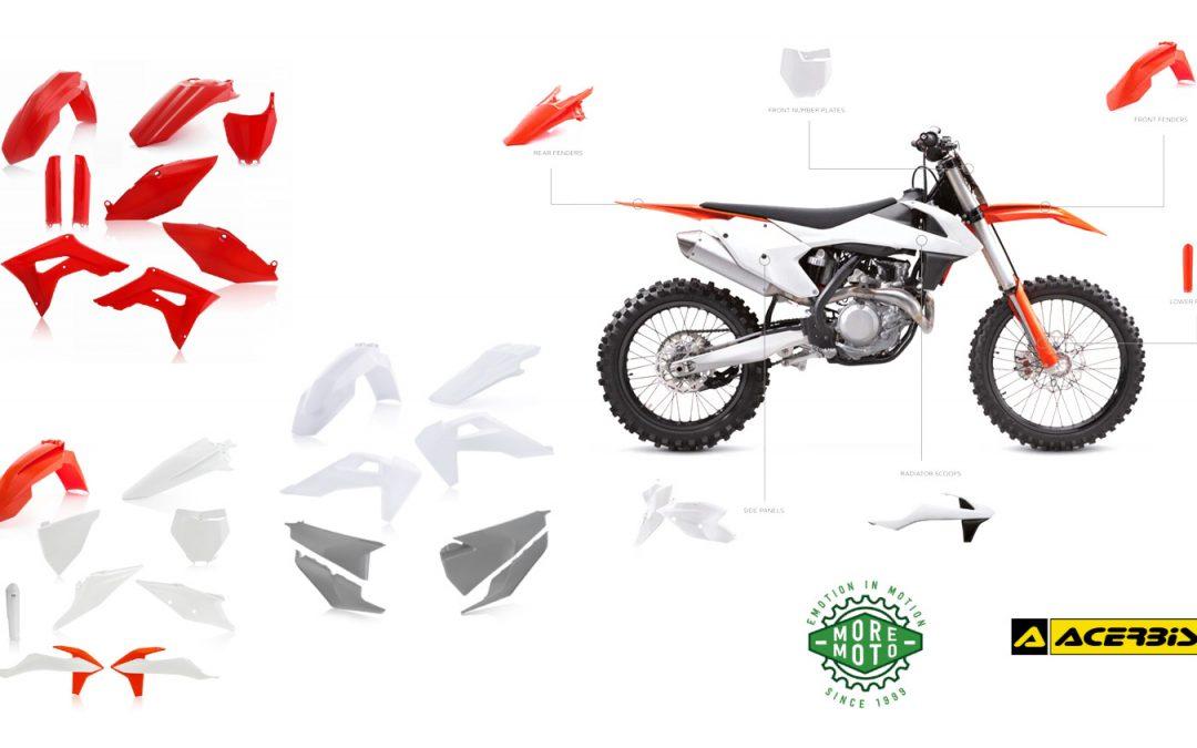 Ya es hora de cambiar los plásticos de mi moto, ¿qué opciones tengo?