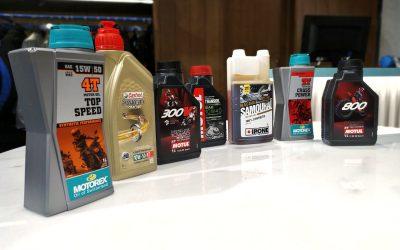 El aceite para el motor de tu moto