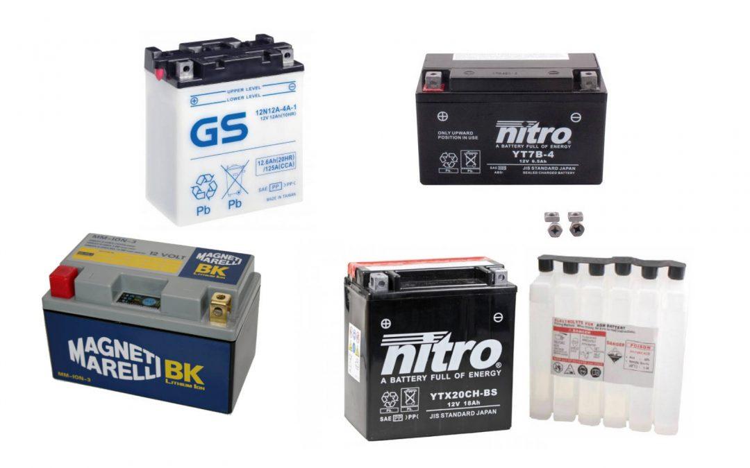 Lo que debes saber sobre las baterías de moto