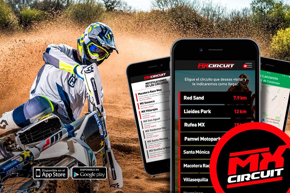 Información actualizada de los circuitos de Motocross con MXCIRCUIT